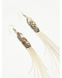 Free People - Multicolor Snake Chain Shoulder Duster Earrings - Lyst