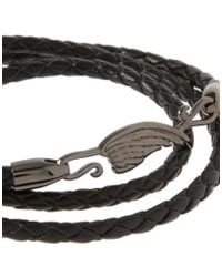 Simon Carter - Brown Exclusive Asos Woven Leather Bracelet for Men - Lyst