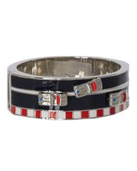 kate spade new york | Multicolor Fast Lane Bangle Hinged | Lyst