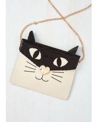 Betsey Johnson - Black She's All Cat Bag - Lyst