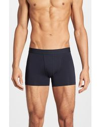 Bread & Boxers | Blue Stretch Cotton Boxer Briefs for Men | Lyst
