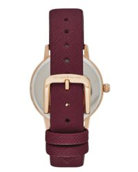 Kate Spade | Purple 5 O'clock Metro Watch | Lyst