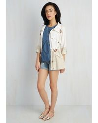 Blu Pepper - Natural New England Inclination Jacket - Lyst