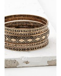 Forever 21 | Metallic -inspired Bangle Set | Lyst