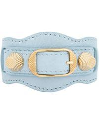 Balenciaga - Blue Giant Arena Bracelet - Lyst
