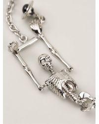 Vivienne Westwood - Metallic 'skeleton' Bracelet - Lyst