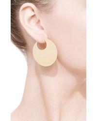 Coleoptere - Metallic Eclipse Earrings - Lyst