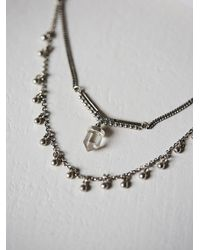 Maniamania - Metallic Starlet Necklace - Lyst