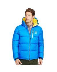 Ralph Lauren - Blue Water-resistant Down Jacket for Men - Lyst