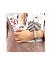 Henri Bendel - Pink Bowery Hinged Cuff Bracelet - Lyst