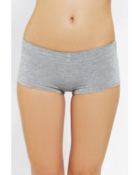 Urban Outfitters | Gray Make It Girly Boyshort | Lyst