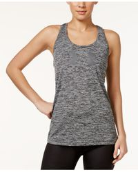 Under Armour | Gray Ua Tech Heathered Tank Top | Lyst