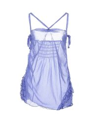 Guess - Blue Slip - Lyst
