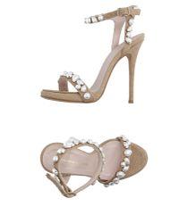 Ermanno Scervino - Natural Sandals - Lyst