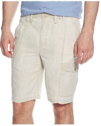 Tommy Bahama | Natural Summerland Keys Coconut Linen Shorts for Men | Lyst