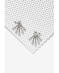 Capwell & Co | Metallic Ava Jacket Earrings | Lyst