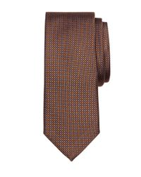 Brooks Brothers | Brown Framed Square Tie for Men | Lyst