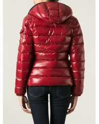 Moncler - Red Bady Padded Jacket - Lyst