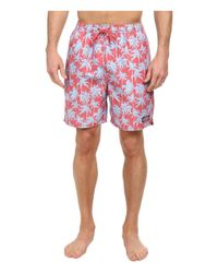 Vineyard Vines | Red Palm Tree Bungalow Shorts for Men | Lyst