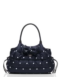 kate spade new york | Blue Colby Court Stevie Baby Bag | Lyst