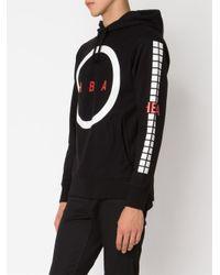 Hood By Air - Black Logo Print Hoodie for Men - Lyst