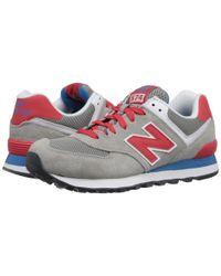 New Balance Gray 574 - Core Plus