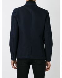 DIESEL - Blue Denim Blazer for Men - Lyst