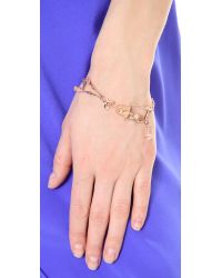 Vivienne Westwood - Metallic Skeleton Bracelet - Lyst