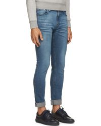 Nudie Jeans - Blue Faded High Kai Jeans for Men - Lyst