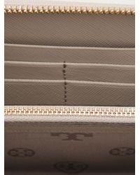 Tory Burch - Gray Classic Wallet - Lyst