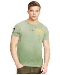 Polo Ralph Lauren | Green Climbing Graphic T-shirt for Men | Lyst