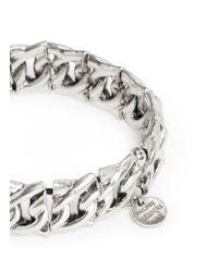 Philippe Audibert | Metallic Chain Elasticated Bracelet | Lyst