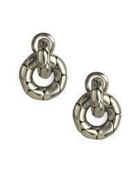 John Hardy | Metallic Kali Door-knocker Earrings | Lyst
