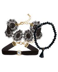 H&M | Metallic 3-pack Bracelets | Lyst