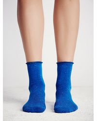 Free People - Blue London Glimmer Anklet - Lyst
