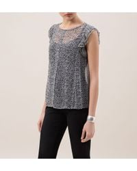 Hobbs | Gray Darcy Blouse | Lyst