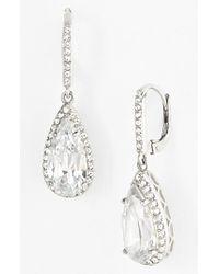 Judith Jack | Metallic Teardrop Earrings | Lyst