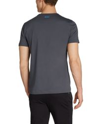 BOSS Green - Gray T-shirt 'tee 1' In Cotton for Men - Lyst