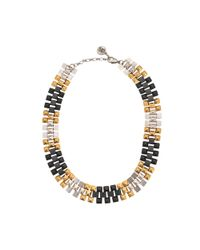 Ela Stone - Multicolor Freja Three-tone Necklace - Lyst