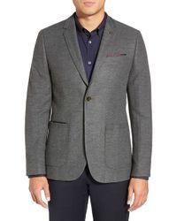 Ted Baker - Gray 'lasveg' Slim Fit Blazer for Men - Lyst