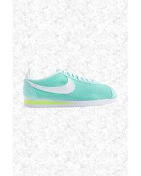 Nike | Blue 'classic Cortez' Sneaker | Lyst