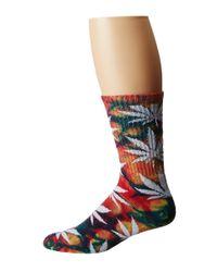 Huf - Multicolor Tie Dye Plantlife Sock - Lyst