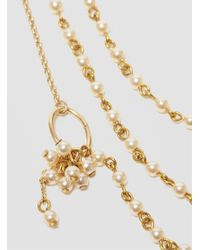 Medecine Douce - Metallic Charleston Necklace Pearl - Lyst