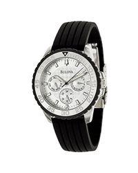 Bulova - Black Ladies Watch Model 96N104 - Lyst
