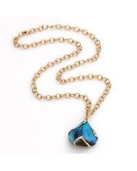 Katherine Jetter - Yellow Boulder Opal Pendant Necklace - Lyst