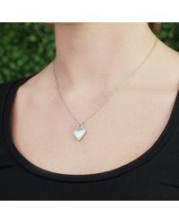 Monique Péan - Gray Grey Sunburst Fossilized Walrus Necklace - Lyst