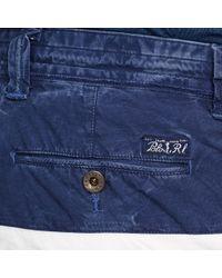 Polo Ralph Lauren | White Color-blocked Cargo Short for Men | Lyst