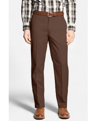 Bobby Jones | Brown Stretch Cotton Pants for Men | Lyst