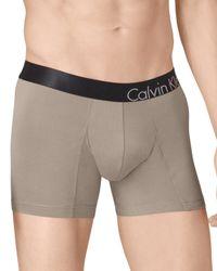 Calvin Klein - Gray Bold Micro Boxer Briefs for Men - Lyst