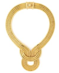 Lara Bohinc | Metallic 'lunar Eclipse' Necklace | Lyst